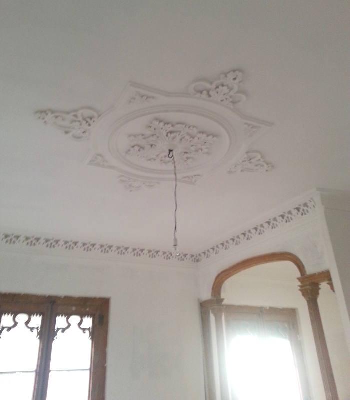 decoración con escayola