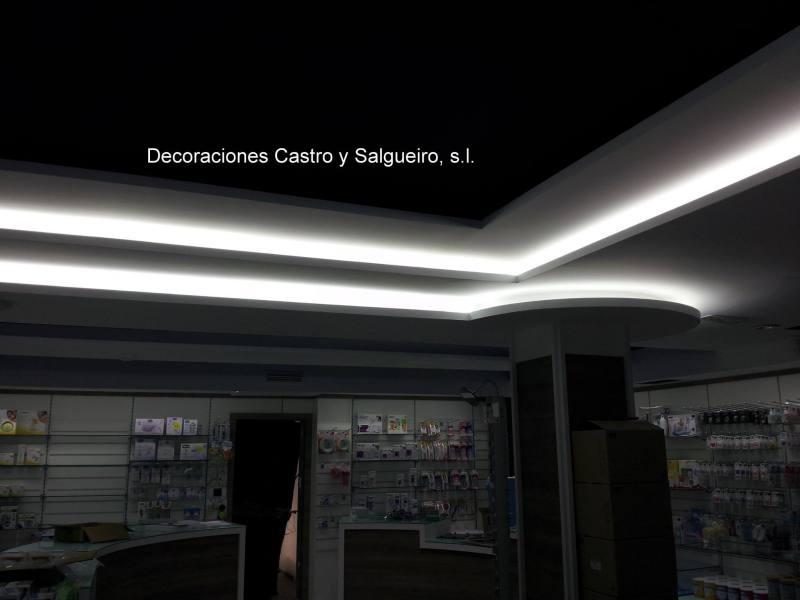 iluminacion farmacia