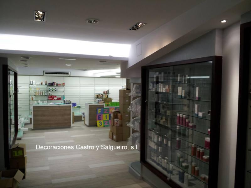 techo escayola farmacia